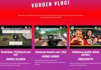 Tubecon Video Awards 2019: Yleisön suosikki -äänestyksessä annettu jo yli 29 000 ääntä